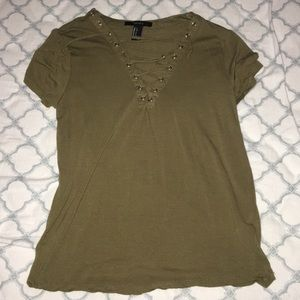 laced t-shirt